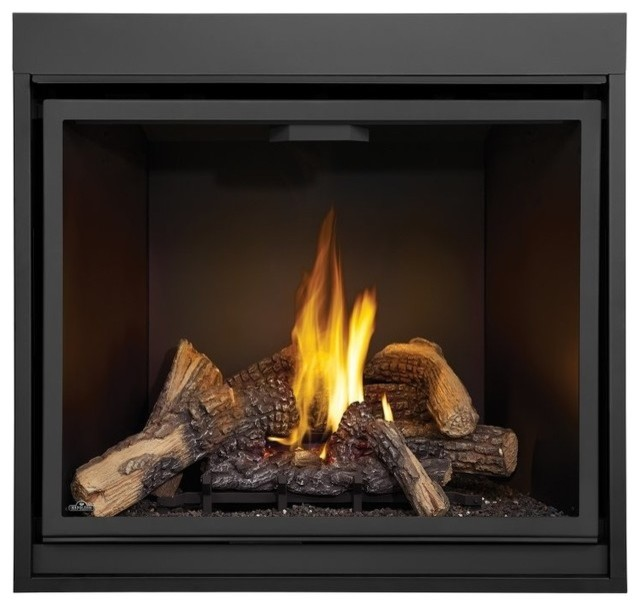 Fireplace Definition: Napoleon STARfire 40 HDX40 Direct Vent Gas Fireplace High
