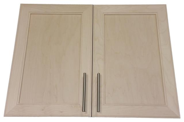 "Village Bp Recessed In The Wall Double Door Frameless Medicine Cabinet, 3.5""."