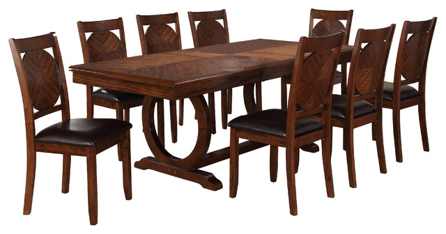 Milton Greens Stars Inc Vernon Dining Table Dark Brown  : traditional dining tables from www.houzz.com size 640 x 336 jpeg 59kB
