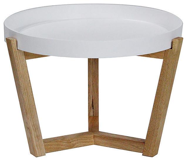 Euro Coffee Table, White