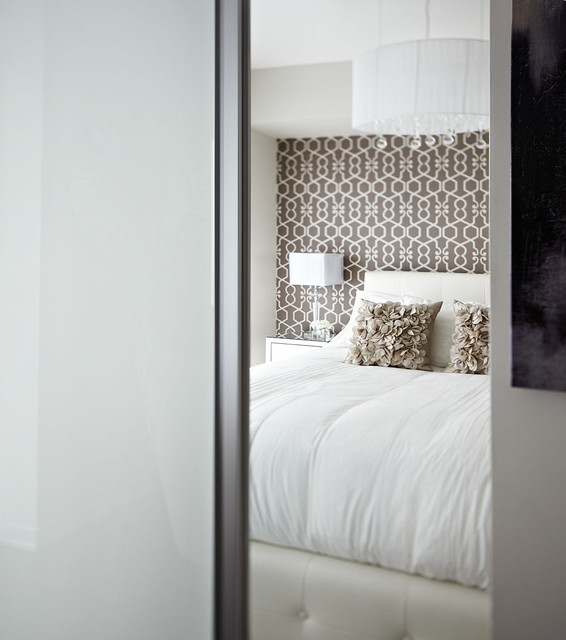 Small Apartments Big Style Contemporary Bedroom
