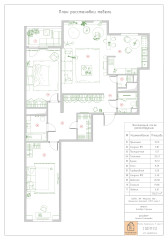 Поиск планировки 3 варианта  финал квартиры для музыканта (14 photos)