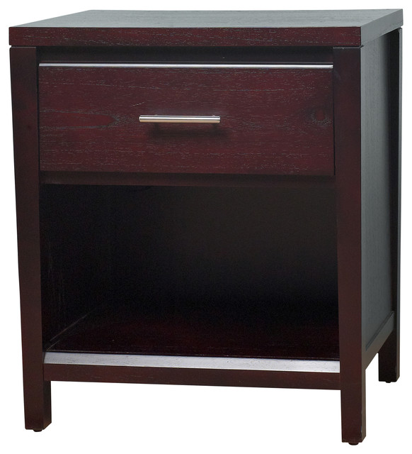Sinclair Nightstand, Without Power Outlets.