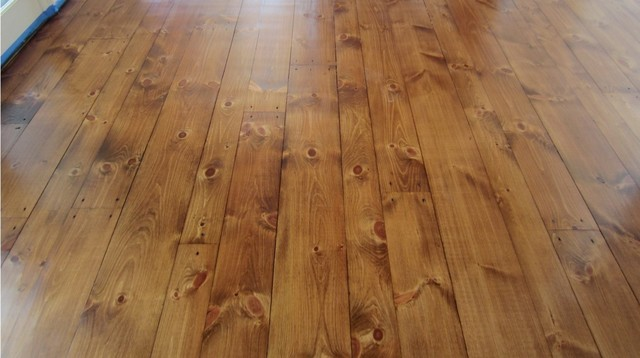 Sagaponack Eastern White Pine With Early American Stain