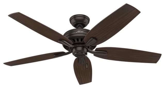 Newsome 52 Ceiling Fan, Premier Bronze.