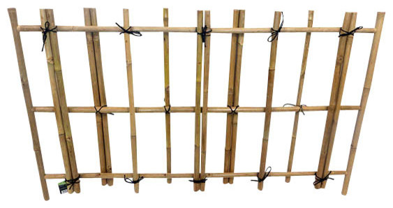 Yotsume Gaki Bamboo Pedestrian Fence   Tropical   Home Fencing And Gates    By Master Garden Products