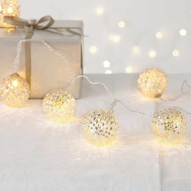 Pinecone Bauble Fairy Lights