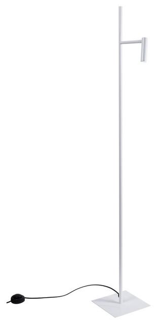 Manhattan Floor Lamp, White
