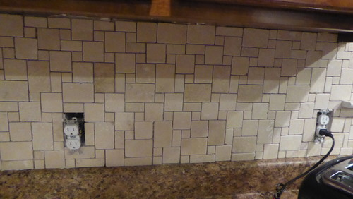 travertine tile grout colors