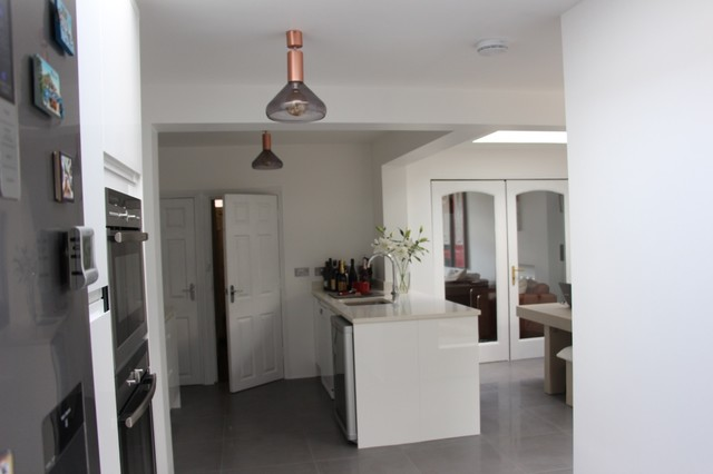 1930 S Mid Terrace Kitchen Extension Contemporary London