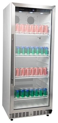 Edgestar Vbr440 11.2 Cu. Ft. Built-In Commercial Beverage Merchandiser.