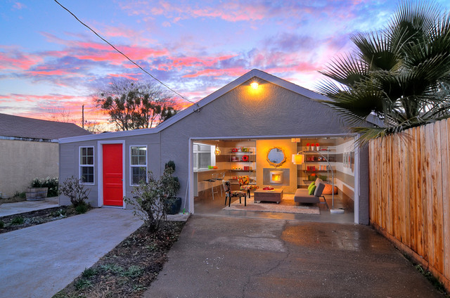 Turning A Garage Into A Home houzz call: show us your garage conversion