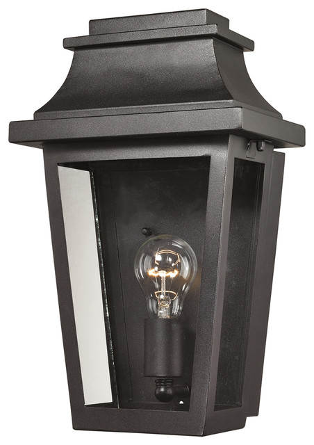 ELK Lighting Covina 1 Light Outdoor Sconce Traditional Outdoor Wall Lights