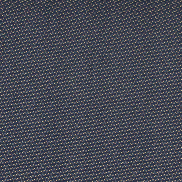 Navy and Gold Speckled Durable Upholstery Fabric By The Yard