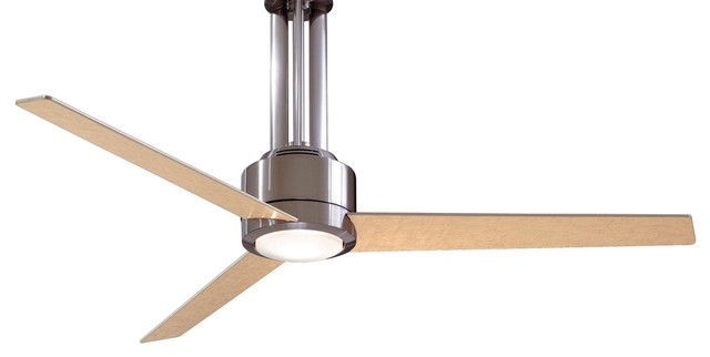 Minka aire flyte ceiling fan contemporary ceiling fans by 56 flyte ceiling fan brushed nickel contemporary ceiling fans aloadofball Images