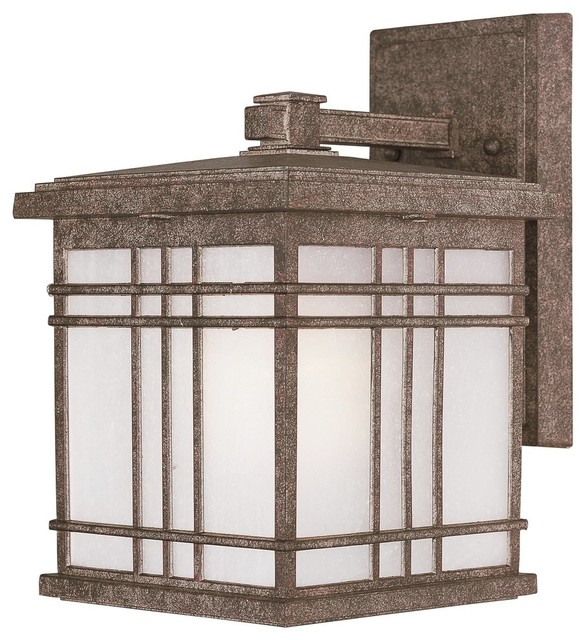 Sienna 1-Light Small Outdoor Wall Sconce.