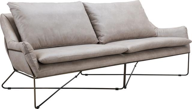 Stupendous Finn Sofa Distressed Gray Dailytribune Chair Design For Home Dailytribuneorg