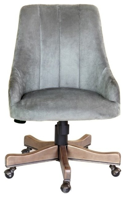 Boss Soft Shubert Home Office Chair, Charcoal.