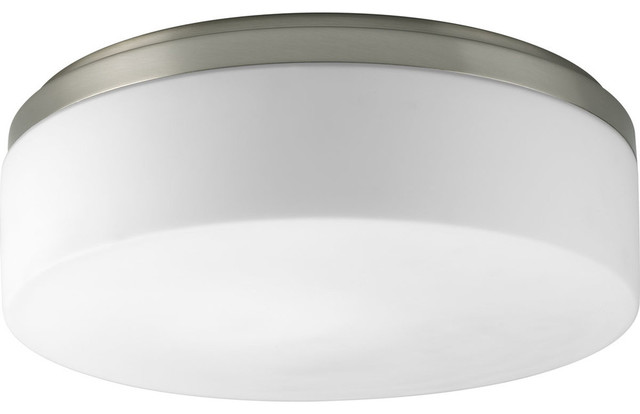 Transitional Maier Flush Mount, With Bulbs.