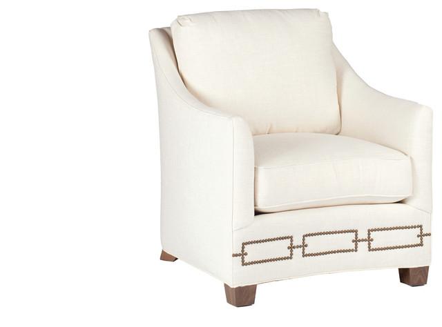 Gabby Baldwin Curved Back Chair Transitional Armchairs  : transitional armchairs and accent chairs from www.houzz.com size 640 x 474 jpeg 33kB