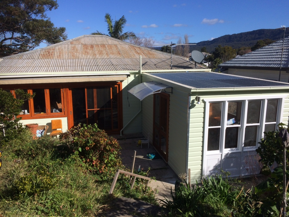 Cottage exterior, Wollongong