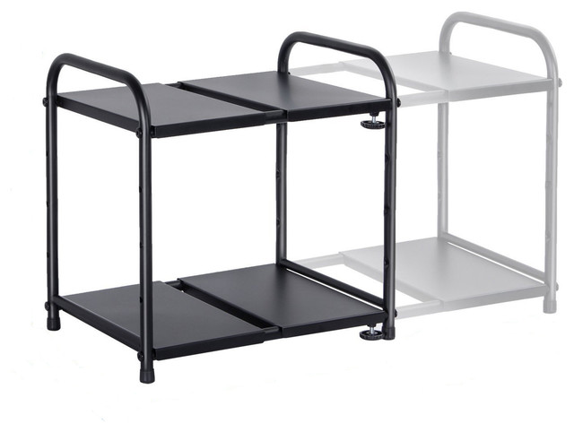 Lifewit 2-Tier Adjustable Wire Shelving Unit,14.5x10.5x15.2 ...