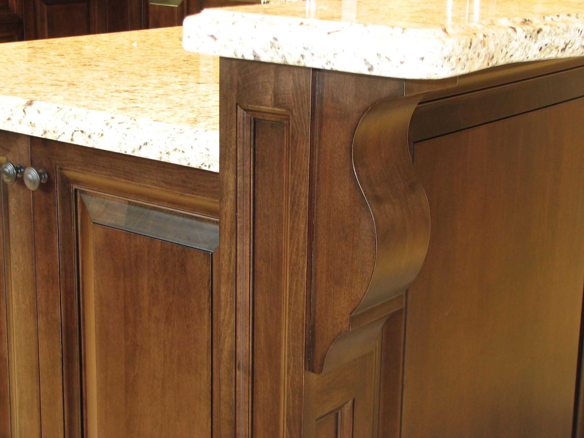 Large Wood finish Kitchen