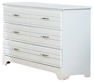 Platinum Collection Dresser, Double 6 Drawer