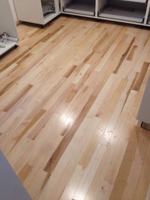 Gluing Down Prefinished Solid Hardwood Floors Directly