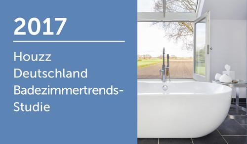 Houzz Deutschland Badezimmertrends-Studie 2017