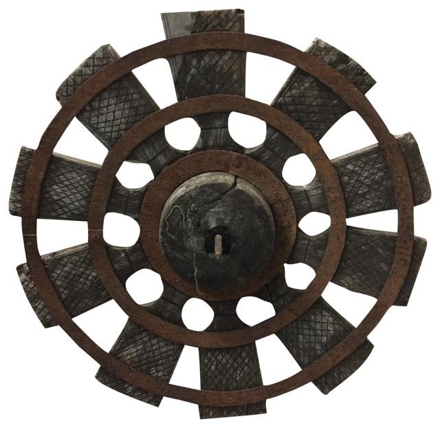 Consigned Antique Charkha Spinning Wheel From Golden Era of Mahatma Gandhi