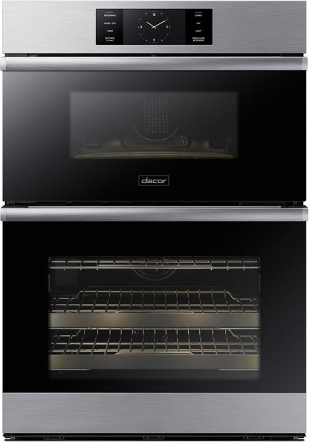 Dacor Modernist 30 Electric Oven/microwave Combo, Stainless Steel.
