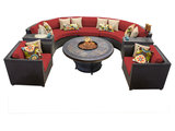 tropical-outdoor-lounge-sets Fire Pits and Outdoor Heating With Free Shipping Upholstery in London(217 photos)