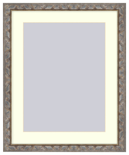 Frames by mail light bronze picture frame reviews houzz - Eclectic picture frame wall ...