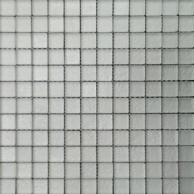 Matte Square Pattern Gl Mosaic Tiles
