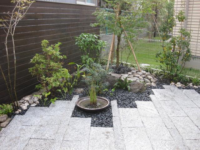 A Modern Japanese Garden Tokyo By Niwashyu źè¡† Houzz Ie