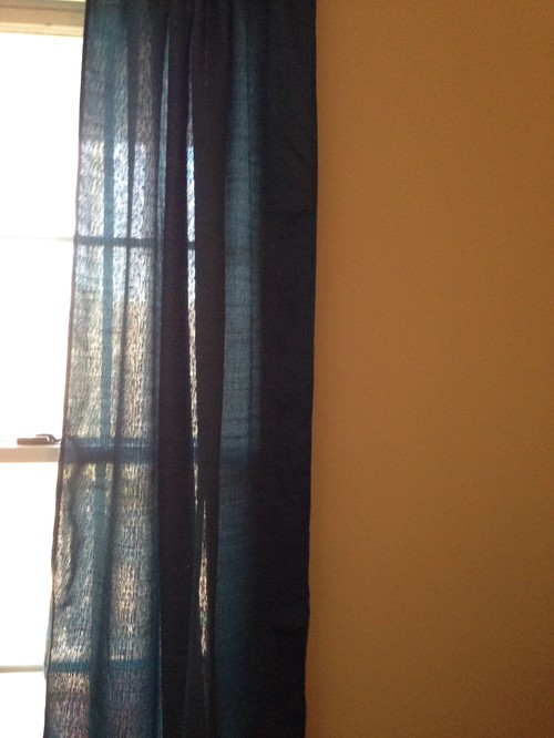 Grey Curtains With Beige Walls ?