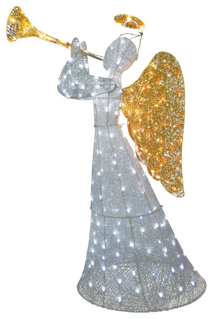 "60"" Angel Decoration With LED Lights"