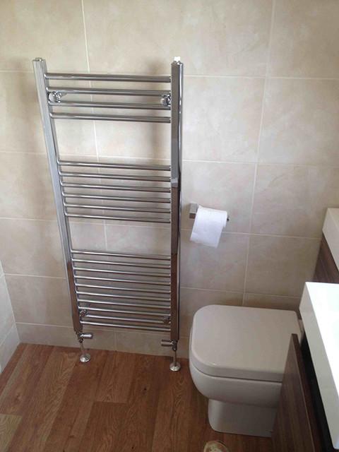 Bathroom Installation Chrome Towel Radiator