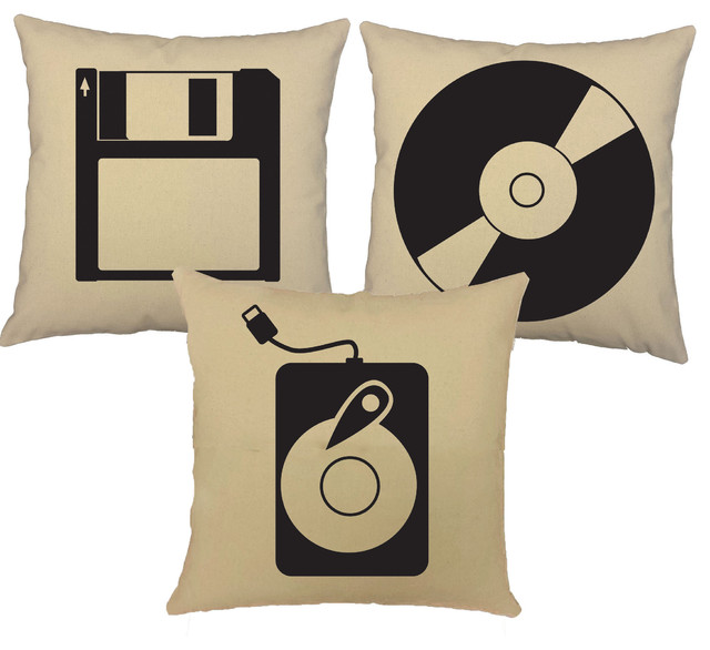 Decorative Bed Pillow Storage : Computer Storage Devices Throw Pillows - Decorative Pillows - by RoomCraft