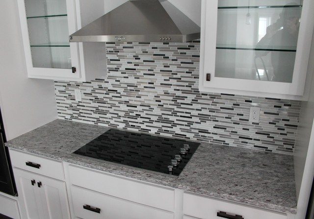 Moon White Granite Kitchen Perimeter Amp Island