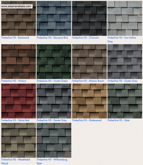 Help asap siding and roof color for Roof colors