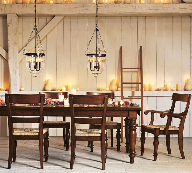 Pottery Barn dining room - Traditional