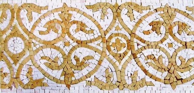 Mosaic Border   Royal Art Traditional Accent Trim And Border Tile