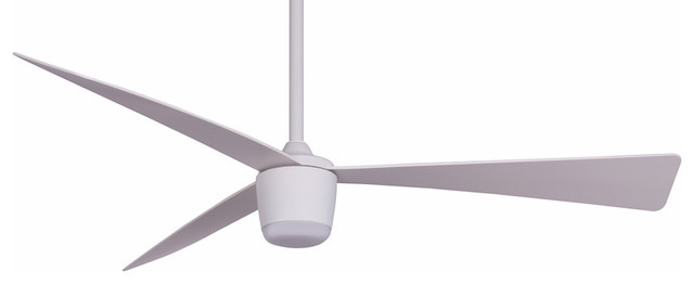 Star 7, DC Motor, LED Light, Remote Control Ceiling Fan, White