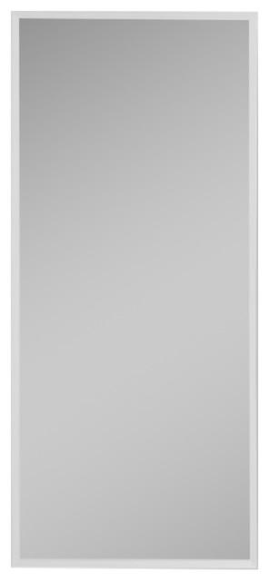 """Rc1636d4 R3 Series 16""""x36"""" Medicine Cabinet, Flat Door, Plain Edge Mirrored Door."""