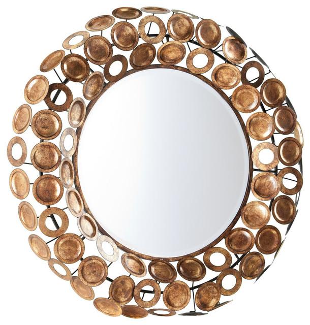 Narita Round Decorative Mirror Wall Mirrors By Sei