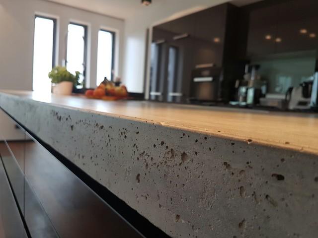 Bax Küchen bax küche mit miele und beton in leichlingen modern sonstige