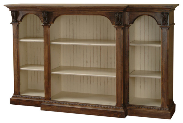 Cambridge Low Bookcase Traditional Bookcases By