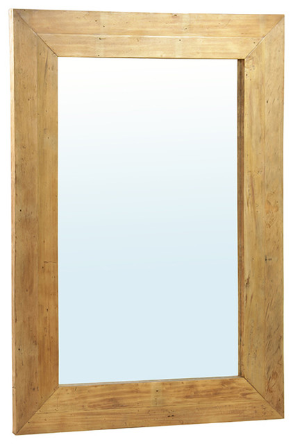 shop houzz design mix furniture rustic wood mirror large